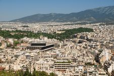 Free Athens Skyline Royalty Free Stock Image - 19724416