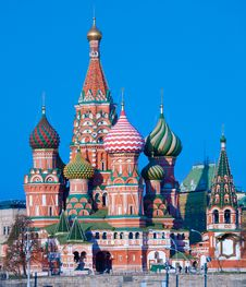 Free Saint Basil S Cathedral Stock Photos - 19724443