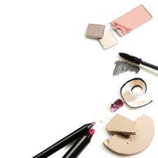 Free Set Of Cosmetics Royalty Free Stock Image - 19724596