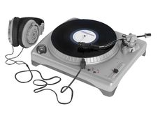 Free Turntable Royalty Free Stock Photos - 19724808