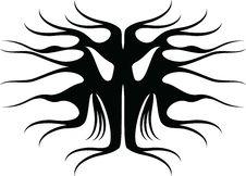 Free Tattoo Tribal Royalty Free Stock Photos - 19725078