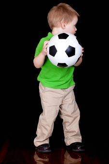Free Soccer Time Royalty Free Stock Photography - 19725387