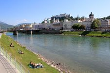 Free Salzburg In Summer Stock Image - 19726051