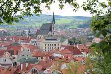 Free Cesky Krumlov Royalty Free Stock Photo - 19726295