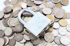 Free Locked Money Stock Photos - 19727143