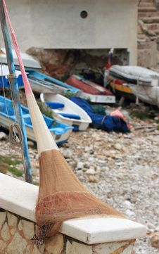 Free Fishing Net Stock Photography - 19727702