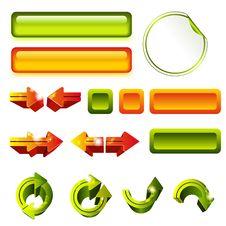 Set Of Elements Stock Photos