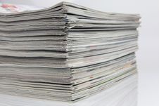 Free Stack Of Magazines Stock Image - 19728571