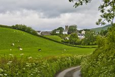 Grayrigg Village Scenic Stock Photo