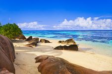 Free Beach Source D Argent At Seychelles Royalty Free Stock Photography - 19728967