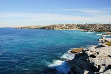 Near The Beach Bondi, Sydney, Australia Stock Photos