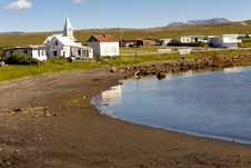 Free Porshofn Village. North Part Of Iceland. Royalty Free Stock Images - 19729639