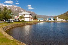 Free Small Icelandic Village - Seydisfjordur Stock Photo - 19729880