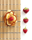 Free Pancakes With Strawberry Royalty Free Stock Image - 19734826