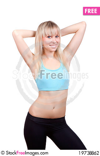 Free Fitness Woman Stock Photography - 19738862