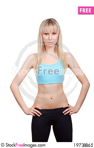 Free Fitness Woman Royalty Free Stock Photo - 19738865
