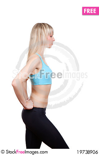 Free Fitness Woman Royalty Free Stock Image - 19738906