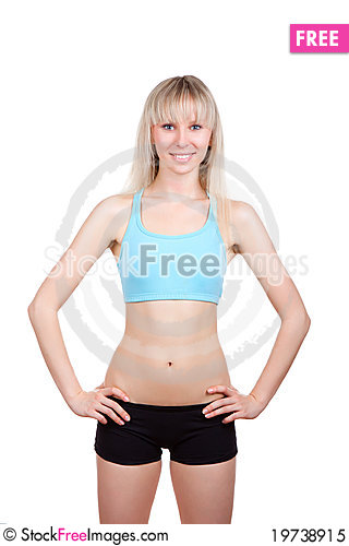 Free Fitness Woman Royalty Free Stock Photo - 19738915
