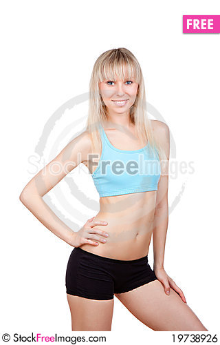 Free Fitness Woman Royalty Free Stock Image - 19738926