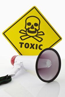 Free Toxic Warning Stock Photo - 19730320
