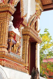 Free Thai Temple. Royalty Free Stock Image - 19731066