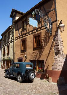 Free Old Village In France Royalty Free Stock Photography - 19731437