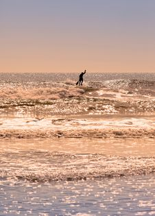Free Stand Up Paddle Surfing Royalty Free Stock Photography - 19731617