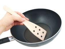 Frying Pan Stock Photography