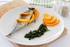 Mackerel In Salsa Verde Stock Photos
