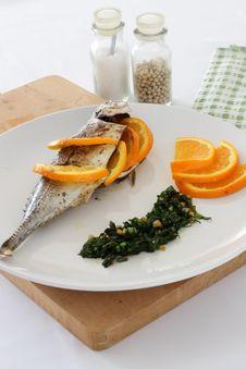 Mackerel In Salsa Verde Royalty Free Stock Images