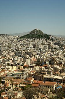 Free Lycabettus Hill, Athens, Greece Stock Photos - 19732163