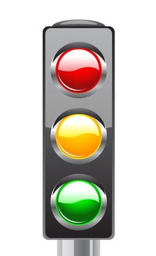 Free Traffic Lights For Your Design Stock Photos - 19732843