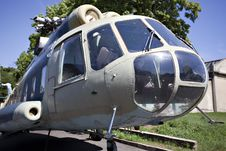 Free Russian Military Helicopter Stock Photo - 19733340