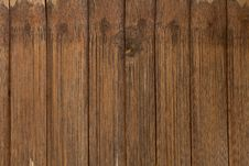 The Brown Wood Texture With Natural Patterns Royalty Free Stock Image