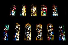 Free Stained Glass Windows Royalty Free Stock Photography - 19734247