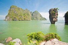 Free James Bond Island Or Khao Tapu Island Royalty Free Stock Photos - 19734608