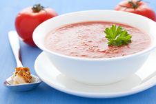 Free Tomato Soup Royalty Free Stock Image - 19734866