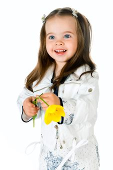 Free Little Girl Royalty Free Stock Photo - 19735415