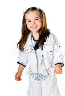 Free Little Girl Royalty Free Stock Photos - 19735418