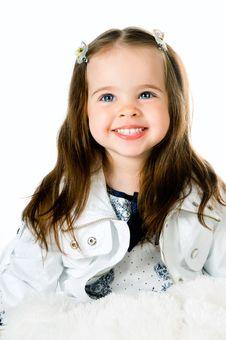 Free Little Girl Royalty Free Stock Photos - 19735428