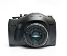 Black Camera Stock Image