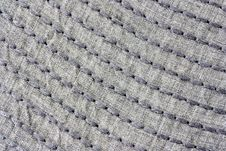 Free Stitched Linen Royalty Free Stock Photo - 19735815