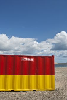 Free Lifeguard House Stock Photography - 19735882