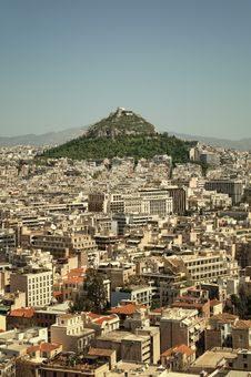 Free Lycabettus Hill, Athens, Greece Royalty Free Stock Images - 19736119