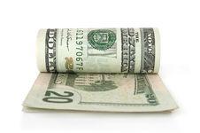Free Convolutions Of Dollars Royalty Free Stock Photo - 19736735