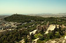 Free Theater Of Herodes Atticus Royalty Free Stock Photos - 19737908