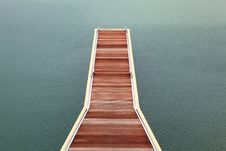Free Wooden Jetty Walkway Royalty Free Stock Image - 19738696
