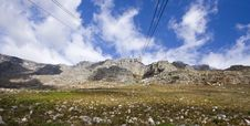 View Of Table Mountain, Cape Town, South Africa Royalty Free Stock Photos