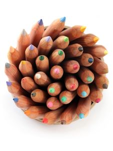 Free Color Pencils Royalty Free Stock Image - 19739206