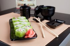 Free Japanese Table Place Setting Stock Photography - 19739302